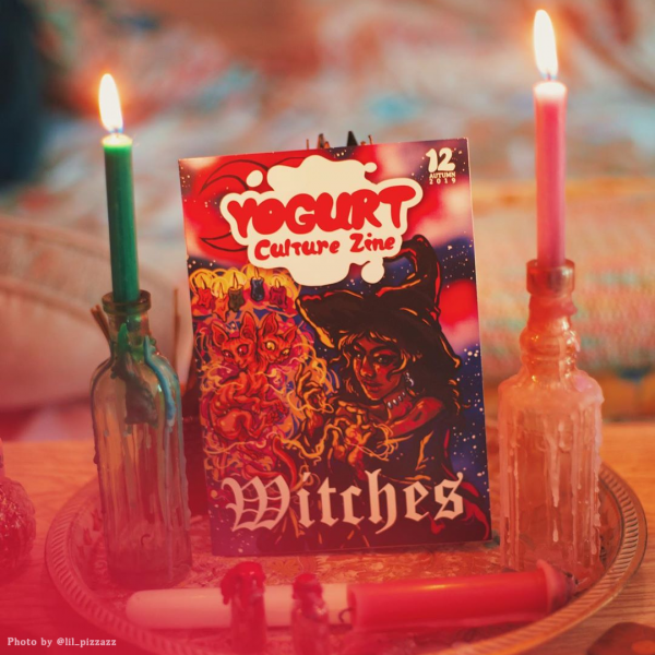 YOGURT Culture Zine Issue 12 WITCHES