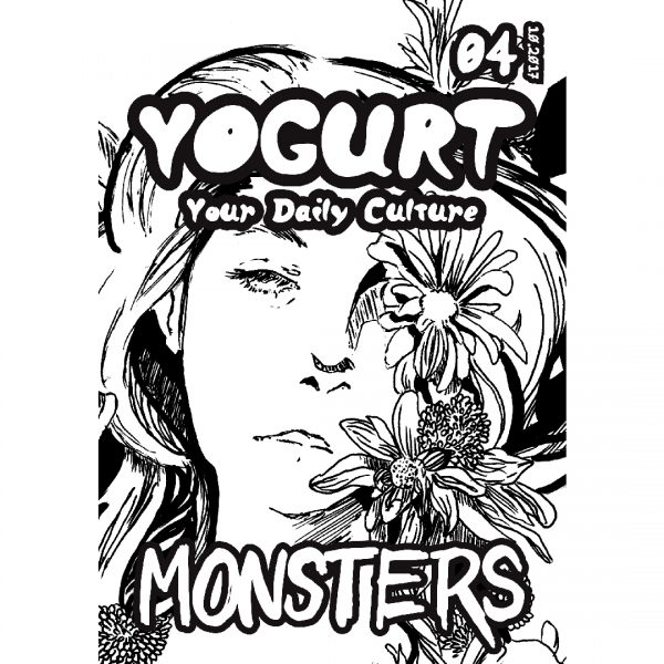 YOGURT Culture Zine Issue 4 MONSTERS